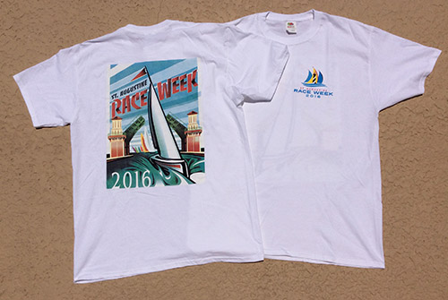 2016 Race Week Design T-shirt