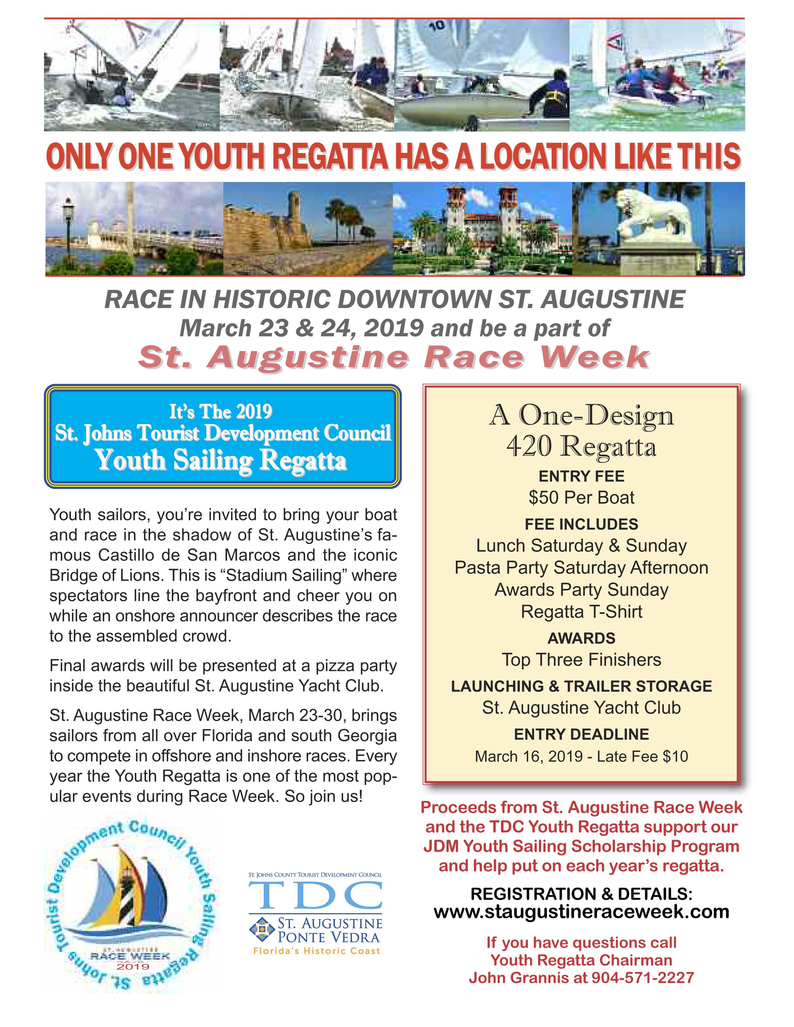 Youth Regatta Registration