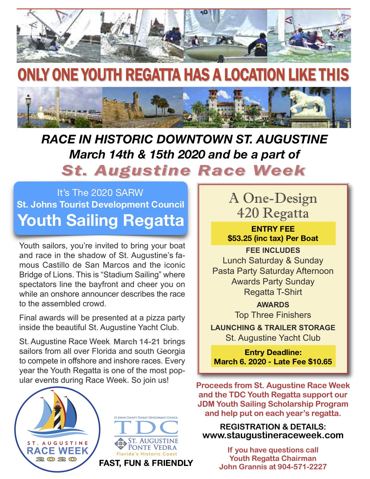 Youth Regatta Registration